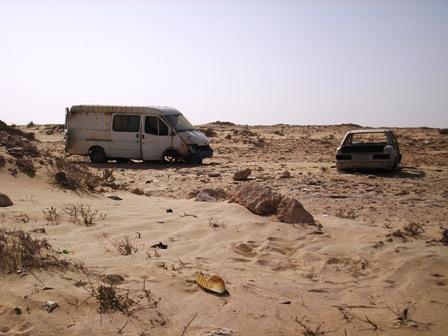 Lääne-Sahaara / Mauritaania piiriala