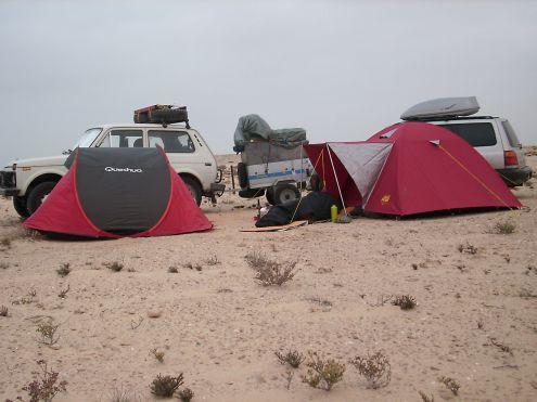 telklaager Mauritaanias