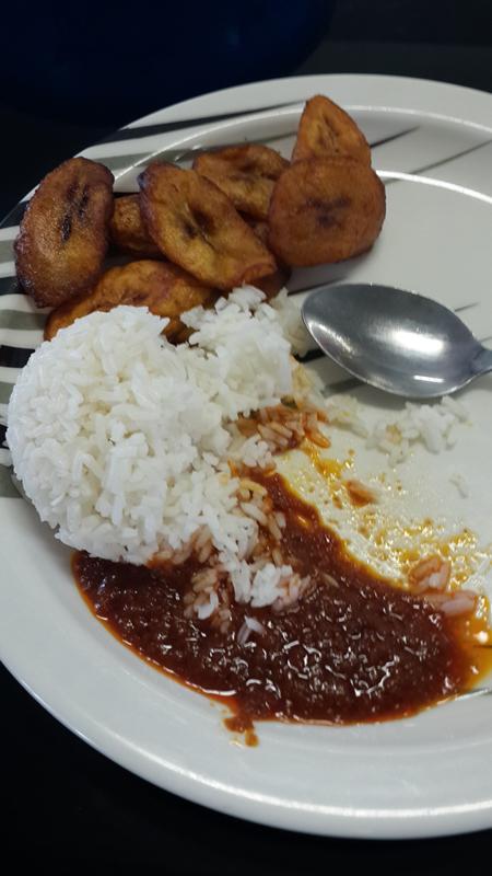 Plantaan, riis ja kaste