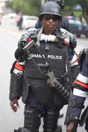 ghana police, occupy ghana, occupy flagstaff house, business, economy, africa, accra, ghana, demonstration,