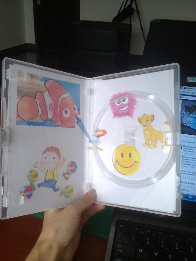 DVD box fun