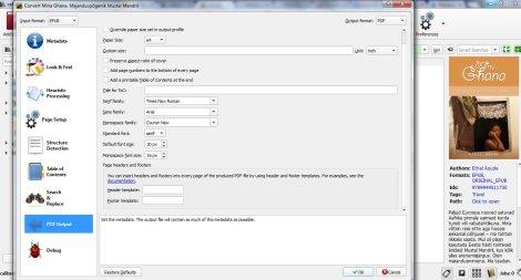 ethel aoude, pdf, epub, e-raamat, konverteerimine, minu ghana