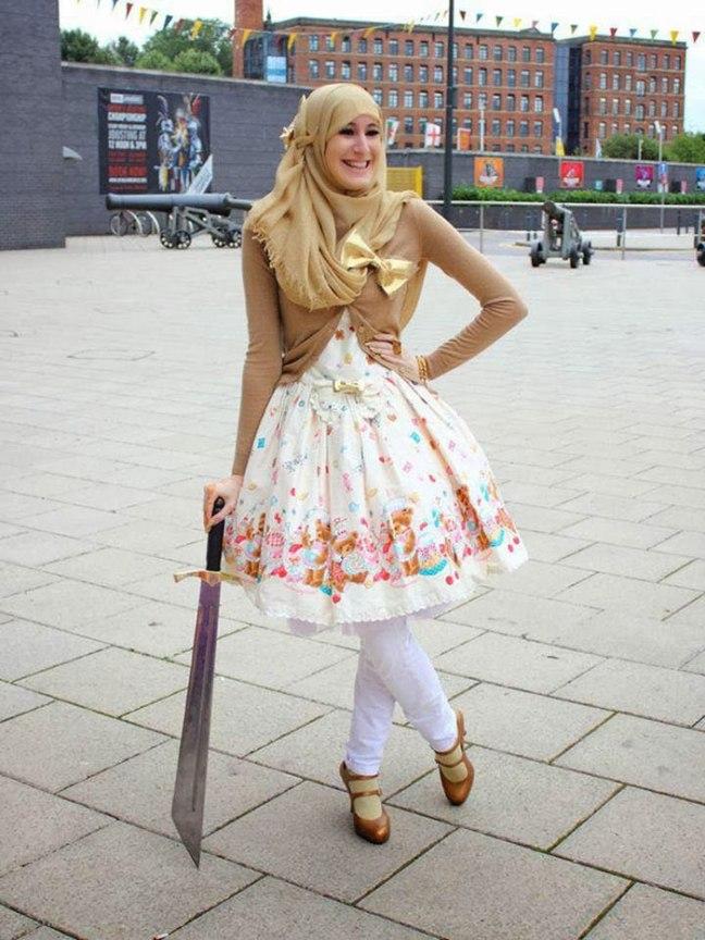 lolita, muslim dress, japan, nukustiil, dollstyle, mood