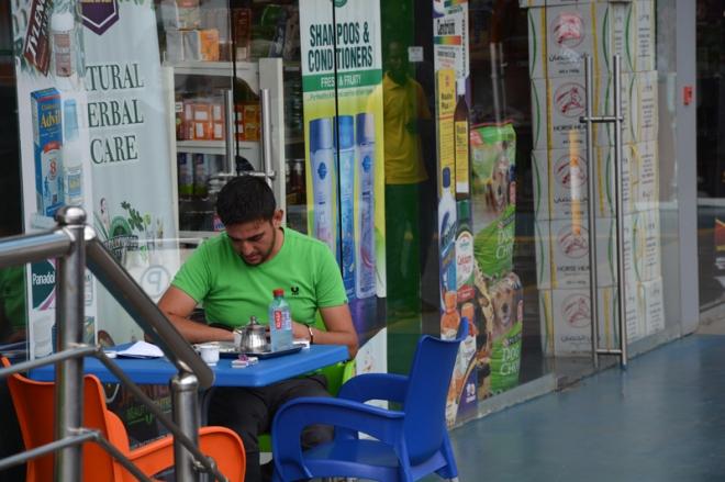 Restorani manager Palestiinast