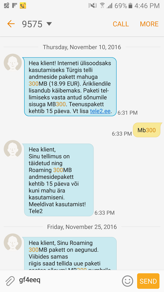 Tele2. roaming, andmeside, pakett, pakkumine, pettus,
